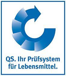 QS - Prüfzeichen für Lebensmittel als Beispiel für Qualitätssicherung