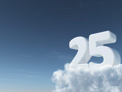 Unser Firmenjubiläum - 25 Jahre AUDIT GmbH